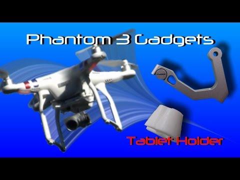 Phantom 3 Gadgets  - Tablet holder reinforcement
