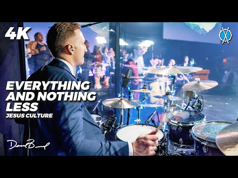 Everything and Nothing Less Drum Cover // Jesus Culture // Daniel Bernard