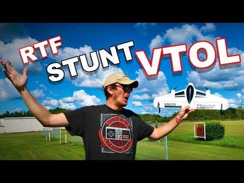 Crazy Stunt VTOL RTF - Brushless Power - Mirarobot M600 - TheRcSaylors - UCYWhRC3xtD_acDIZdr53huA