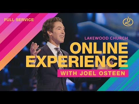 NEW! Lakewood Church   Joel Osteen  Sunday Service 11am