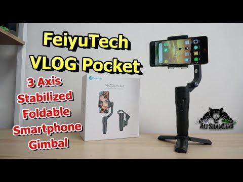 FeiyuTech Vlog Pocket Best smartphone gimbal for travel vloggers - UCsFctXdFnbeoKpLefdEloEQ