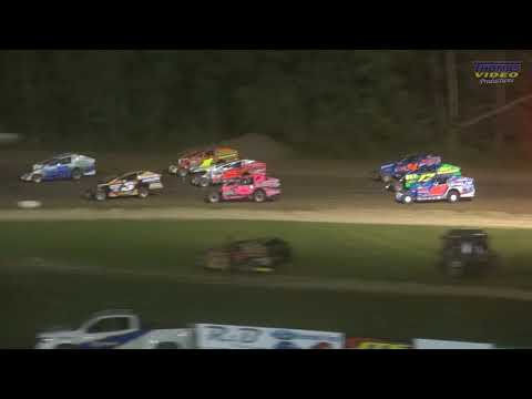 Video Recap from the Brewerton Speedway on Friday, August 10th, 2018. Track Announcers Bill Foley and Adam Buchanan on the call. Action is captured by Thomas Video Productions in full HD quality. Purchase a DVD copy at your local track. - dirt track racing video image
