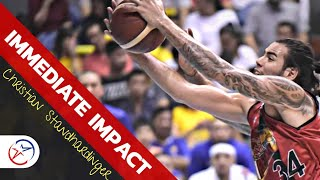 Christian Standhardinger Immediate Impact on the Game   The X- FACTOR    SMB vs TNT Game 6 Finals
