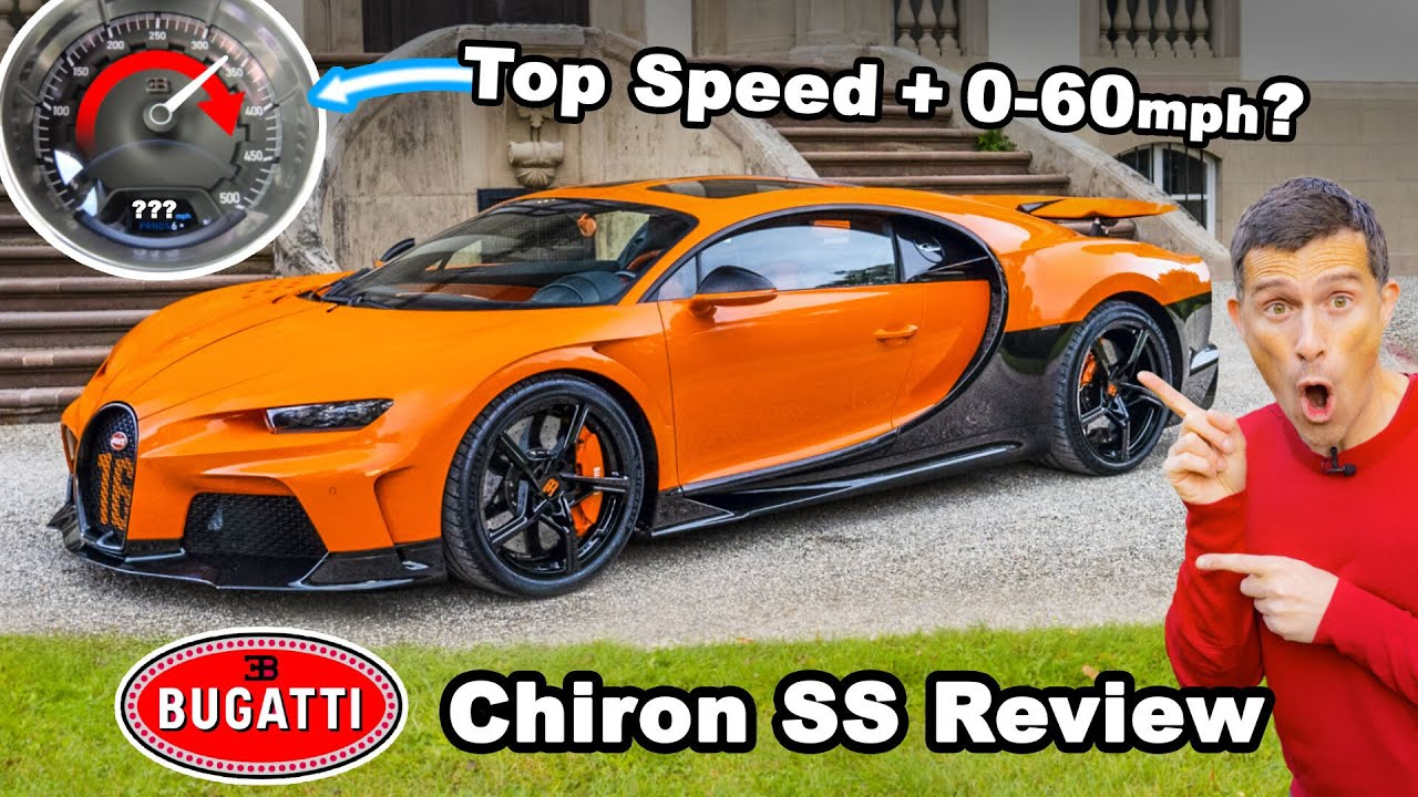 Bugatti Chiron Super Sport review – how fast can I drive it on the Autobahn?