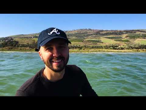Waves  on the Sea of Galilee // Joshua Aaron VLOG