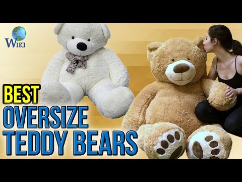 7 Best Oversize Teddy Bears 2017 - UCXAHpX2xDhmjqtA-ANgsGmw
