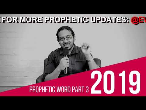 PROPHETIC WORD 2019 PART 3 A WARNING AND A SOLUTION, TAKE YOUR STAND AS A BELIEVER