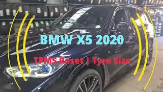 Azzerare spia pneumatici BMW X5 G05 (da 2018)