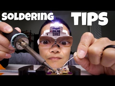 10 Soldering Tips to Instantly Improve Your Soldering Skills - UCoS1VkZ9DKNKiz23vtiUFsg
