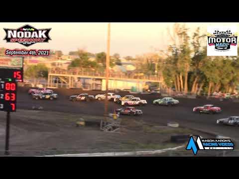 Nodak Speedway IMCA Hobby Stock A-Main (Motor Magic Night #2) (9/4/21) - dirt track racing video image