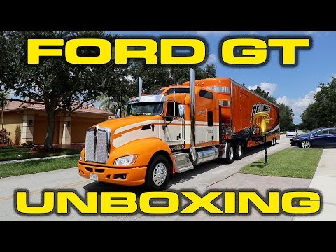 Ford Gt Unboxing And Delivery Orientation By Ford Gt Concierge Audiomania Lt