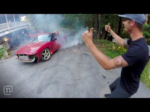 Fun & Games At Ryan Tuerck's Home Drift Car Garage: Garage Tours w/ Chris Forsberg - UCsert8exifX1uUnqaoY3dqA
