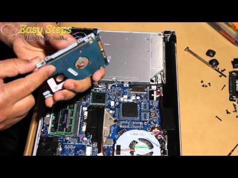 Disassemble Lenovo Ideapad - How to Upgrade Memory & SSD Hard Drive | Clean Fan Z400 Disassembly - UCm1G-I81061vLmwSCTBzq3w