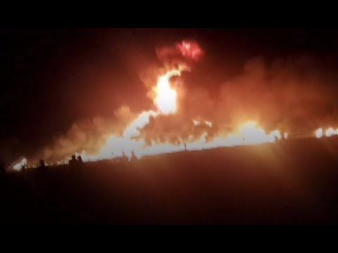 Massive Mexico Pipeline Explosion 89 Dead And 51 Hospitalized