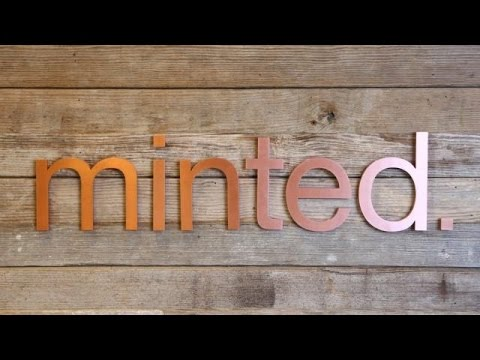 Minted's Visually Stunning Office | TC Cribs - UCCjyq_K1Xwfg8Lndy7lKMpA