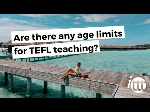 video on age limits in TEFL teaching