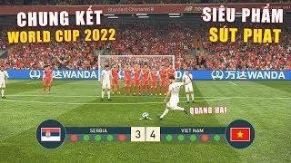PES 19 | FIFA WORLDCUP 2022 | CHUNG KẾT | SERBIA vs VIET NAM - Giấc mơ Bóng Đá VIỆT NAM