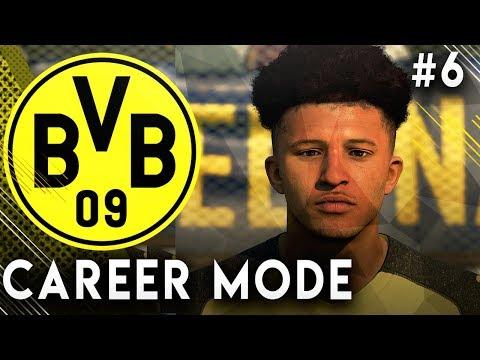 FIFA 19 Borussia Dortmund Career Mode EP6 - Jadon Sancho Real Face Update!! Schalke Derby Game!!