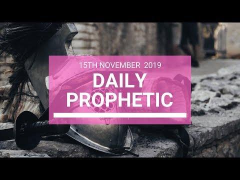 Daily Prophetic 15 November Word 5