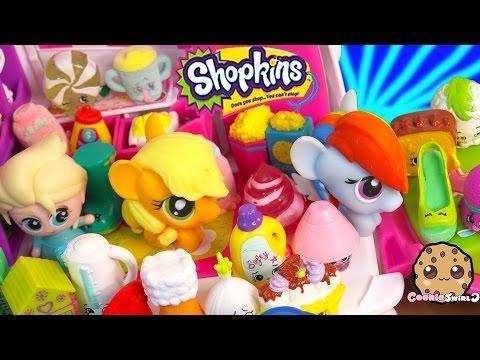 Shopkins Season 2 Unboxing with Fash'ems Toys Disney Frozen Queen Elsa & MLP Applejack in RV Part 3 - UCelMeixAOTs2OQAAi9wU8-g