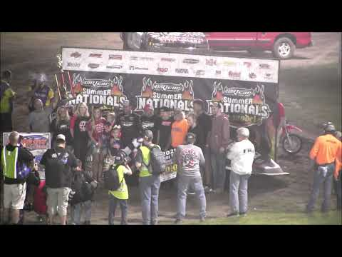2021 Summer Nationals At Farmer City Raceway  7 9 21 - dirt track racing video image