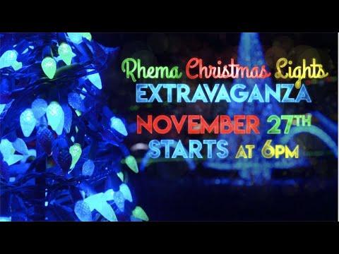 Rhema Video Announcements 11.24.19