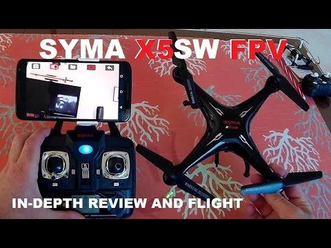 SYMA X5SW FPV QuadCopter Drone Review - Setup, Flight Test, Pros & Cons [Battery Upgrade] - UCVQWy-DTLpRqnuA17WZkjRQ