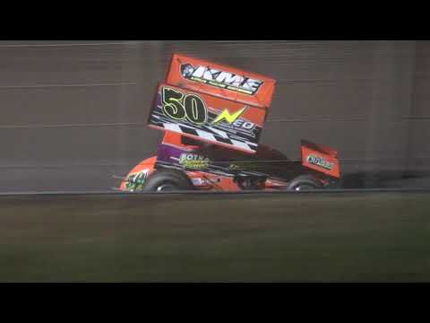 Legendary Winged Sprint Feature Friday - Cedar Lake Speedway 09/17/2020 - dirt track racing video image