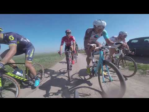 GoPro onboard camera - Paris-Roubaix 2017