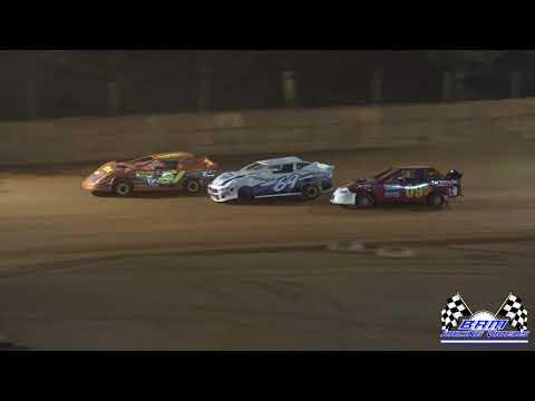 Pure Stock 4 Feature - Ararat Thunder Raceway 7/9/21 - dirt track racing video image