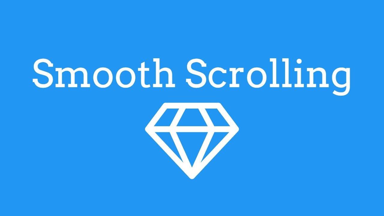 Smooth Scrolling Using JQuery - TheMindSpeaks