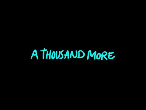 Thrive Worship - A Thousand More (Official Lyric Video)