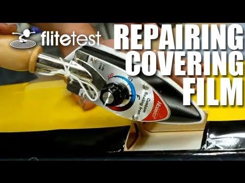 Flite Test - Repairing Covering Film - FLITE TIP - UC9zTuyWffK9ckEz1216noAw