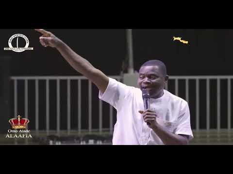 Prophet Kayode Adio (atamatase) Ministration DURING ERIO2021