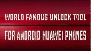Unlocking Software | HUAWEI ANDROID UNLOCKER | PACK7