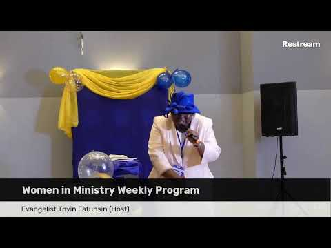 THE SENT WOMAN 2- WOMEN IN MINISTRY