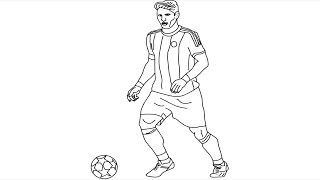How to Draw Bastian Schweinsteiger step by step || Footballer Bastian Schweinsteiger Drawing