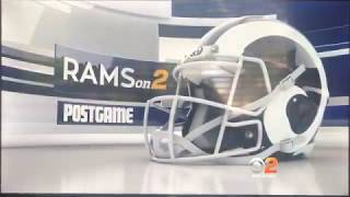 "KCBS ""Rams on CBS 2"" postgame show open August 17, 2019"