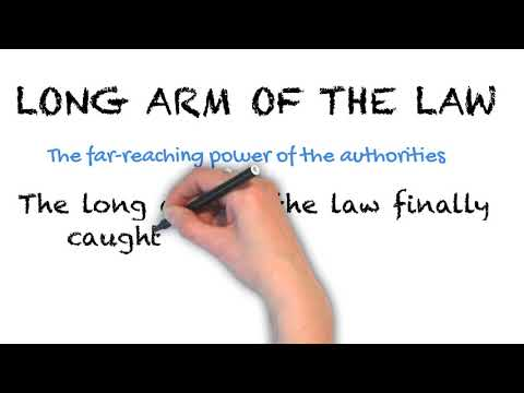 Long Arm Of The Law - English Idioms