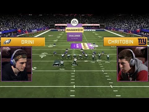 Madden '19 Challenge Championship Full Game: The Reigning Champ vs. The Rookie - UC_vl8cSXLBi1tVegCKMRtTw