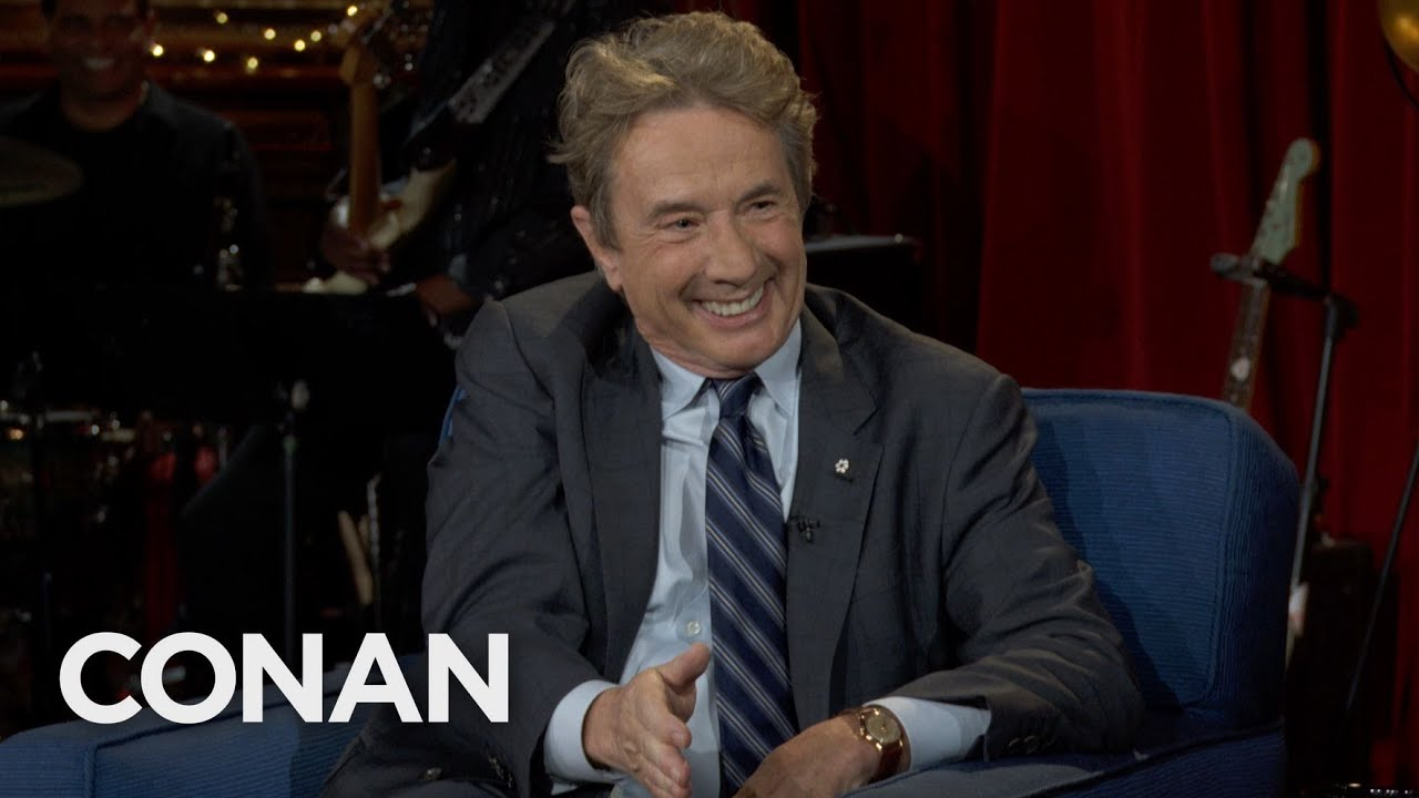 Martin Short: Steve Martin Is A Genius – CONAN on TBS