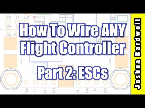 Flight Controller Wiring For Beginners - PART 2 - ESCs - UCX3eufnI7A2I7IkKHZn8KSQ