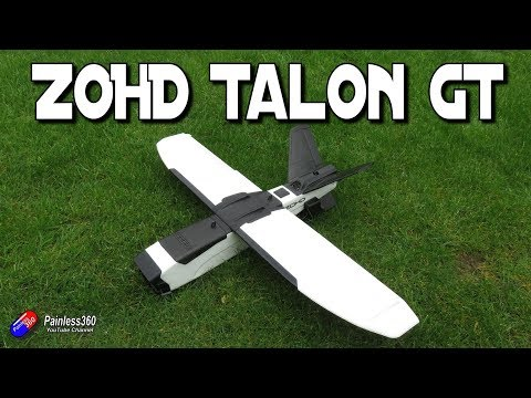 ZOHD Talon GT 'Rebel' FPV 'Plane - unboxing and build - UCp1vASX-fg959vRc1xowqpw