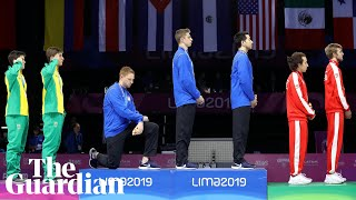 Race Imboden takes a knee and joins tradition of US athlete protests