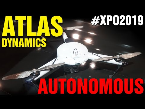 Atlas Dynamics: Autonomous Patrol Drone (not OK with FAA) - UC7he88s5y9vM3VlRriggs7A