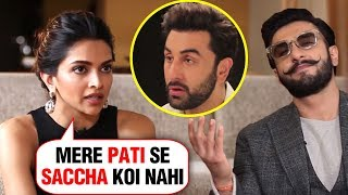 Deepika Padukone SHOCKING Confession For EX Ranbir Kapoor And Ranveer Singh