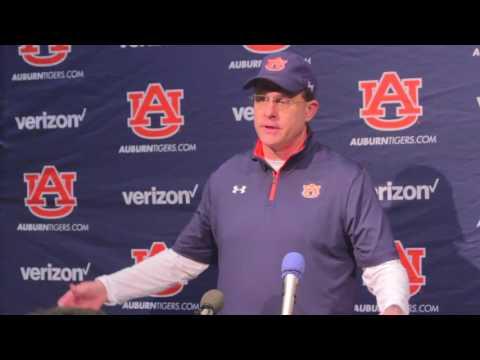 Gus Malzahn Press Conference | Auburn at Georgia 2016
