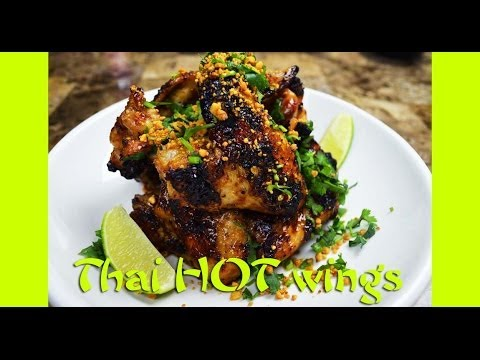 Hot Wing Recipe : Thai Hot Wings : Hot Wing Sauce : Hot Wings : Thai Food : Chicken Recipes : 한글자막 - UCIvA9ZGeoR6CH2e0DZtvxzw