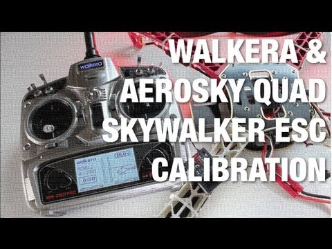 Walkera WK-2801 Pro Transmitter w/ AeroSky Quadcopter - Skywalker ESC Calibration - UC_LDtFt-RADAdI8zIW_ecbg
