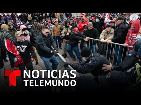 ¿Qué falló en la seguridad para que los manifestantes pudieran entrar al Capitolio? | Noticias